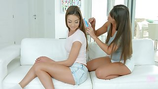 You strive staggering opportunity to enjoy lesbian 69 sex with Victoria Velvet