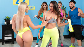 Full Out Their Anger Free Pic With Abella Hazard - BRAZZERS